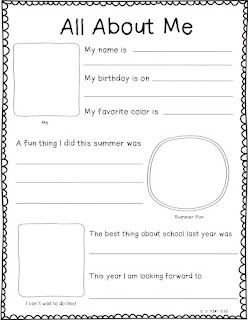 Printables Back To School Worksheets For First Grade 1000 images about back to school on pinterest
