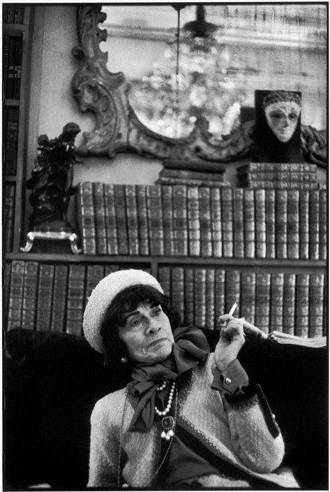 bacf4559fdf Magnum Photos Photographer Portfolio Henri Cartier-Bresson FRANCE. Paris.  French fashion designer Coco CHANEL. 1964.