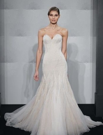 Bridal Gowns Mark Zunino Tamra Barneys Rhoc Dress Mermaid Wedding With Sweetheart Neckline And Dropped Waist Waistline