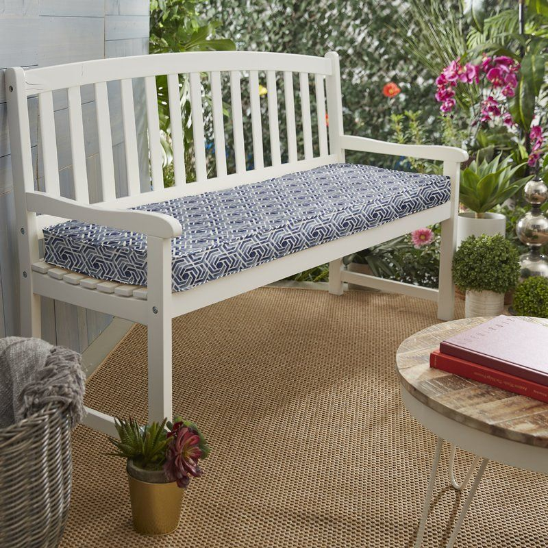 Indoor Outdoor Bench Cushion Bench Cushions Sunbrella Bench Cushion Custom Outdoor Cushions