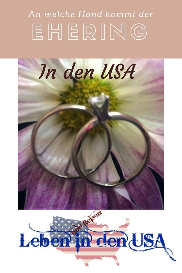 Ehering Und Verlobungsring In Den Usa Leben In Den Usa Pinterest