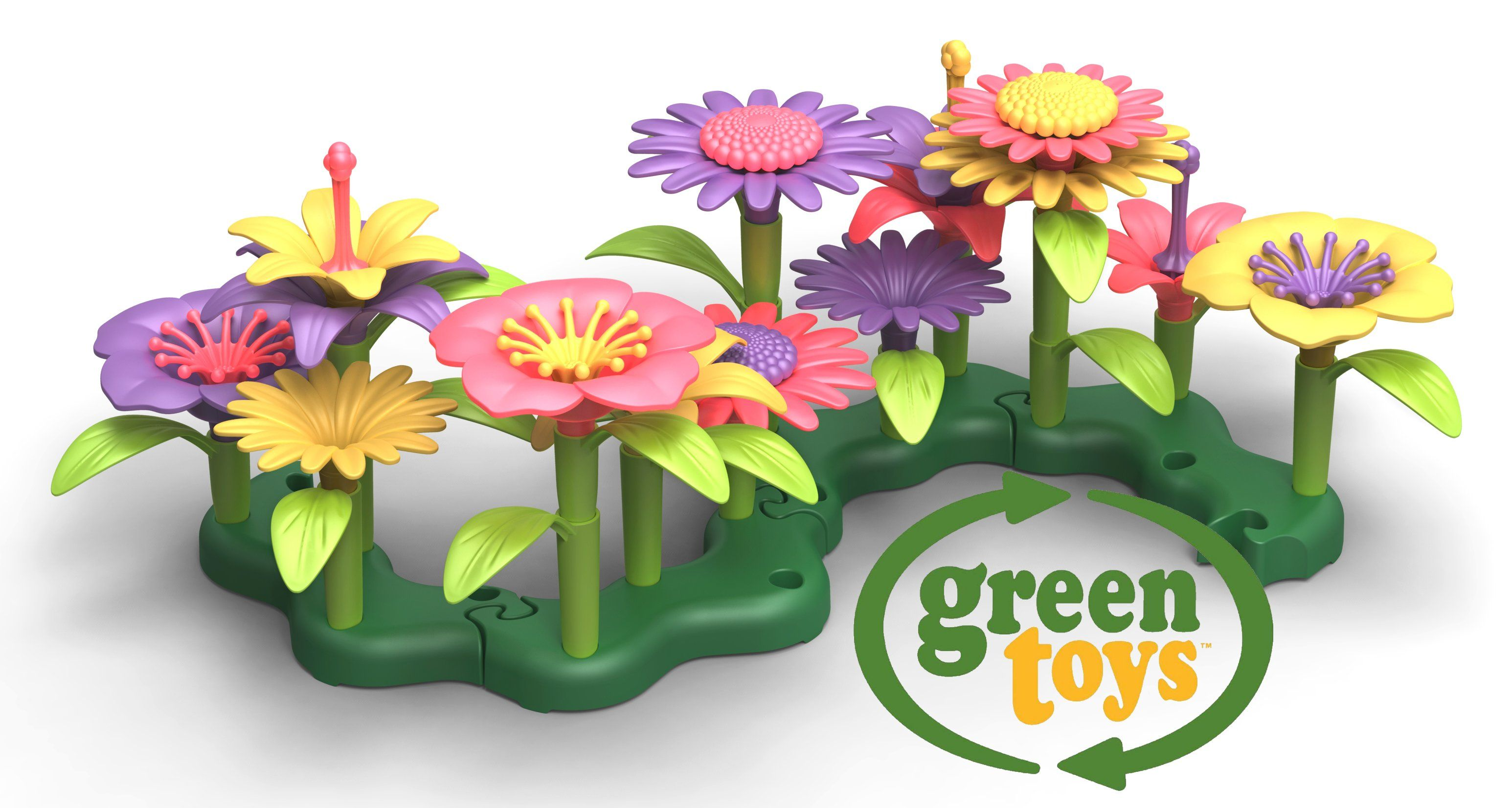 Green Resolutions Giveaway Hop Toys Build A Bouquet