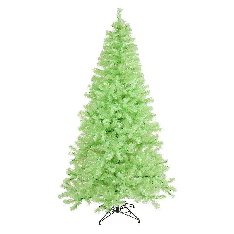 Chartreuse Christmas Lights