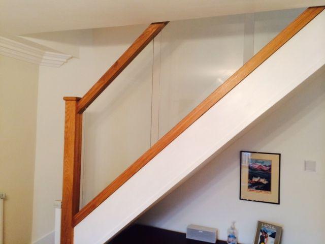Best Glazed Oak Staircase Balustrading Oak Home Decor Staircase 400 x 300