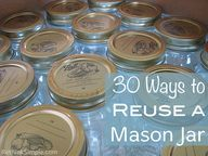 30 Ways to Reuse a M