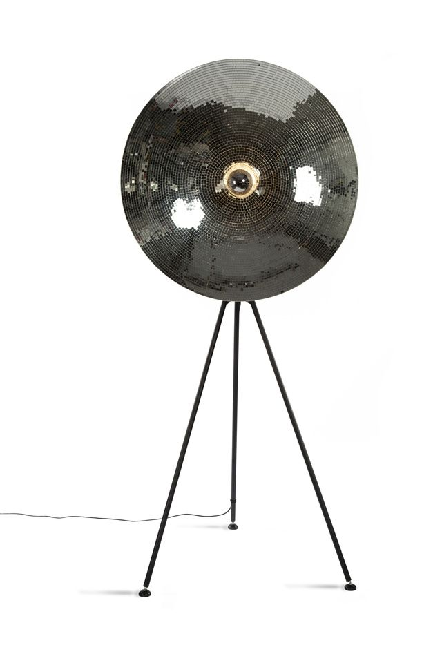 This Disco Ball Floor Lamp Is A Classy Take On A Kitschy Icon ...