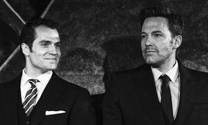 'I can't do all the grinning and bearing by myself, Ben': Henry Cavill and Ben Affleck