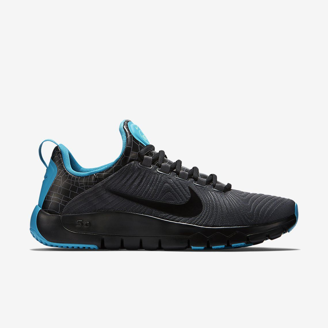 Nike Free Trainer 5.0 Literie Bleu Et Blanc