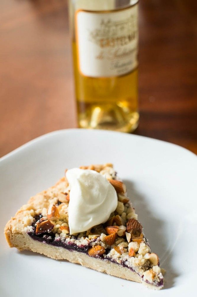 Smith Ratliff Pairs A Sauternes With This Scrumptious Raspberry Tart