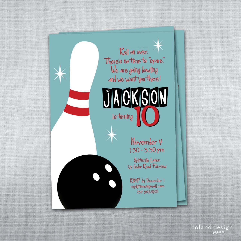 The excellent Einladungskarten Kindergeburtstag Selber Machen ... - Einladungskarte Bowling