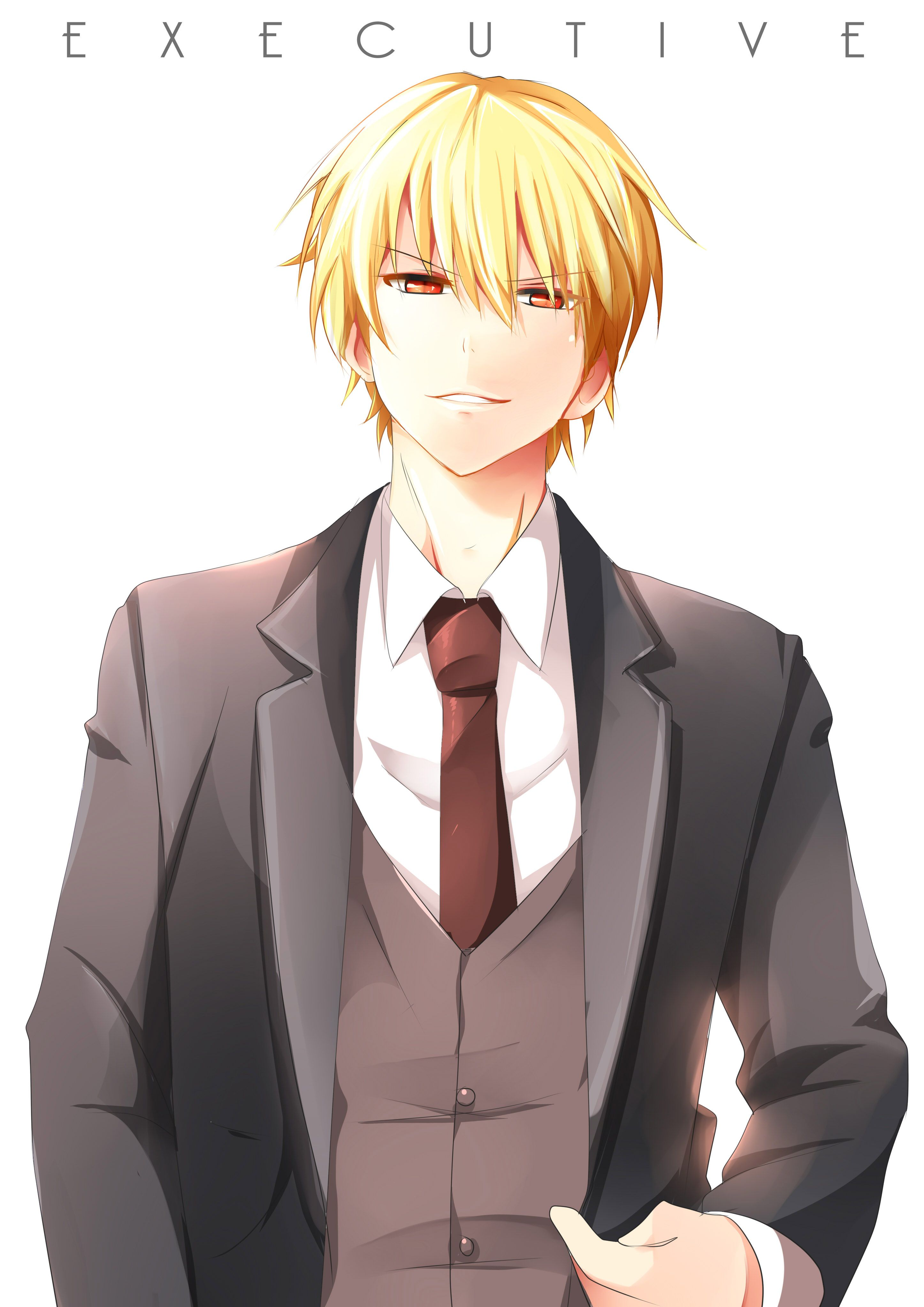 A King in suit Gilgamesh fate, Anime, Fate stay night