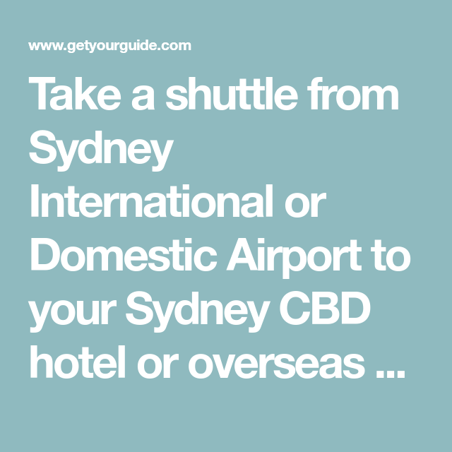 c4ea7d0c3d157ed15335162a1c6a3d7d - How To Get From International To Domestic Terminal Sydney