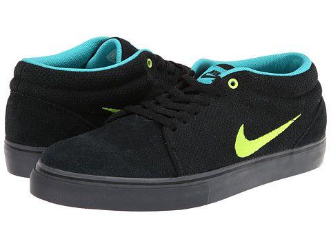 Nike SB Satire Mid Black/Dusty Cactus/Cool Grey/Volt - 6pm.