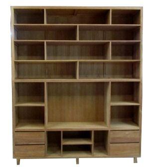 Teak TV meubel Kampen TV kast Wandkast boekenkast | House