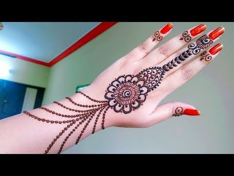 Mehndi Designs Hands Arabic Latest : Latest arabic henna designs for hands mehndi with cap