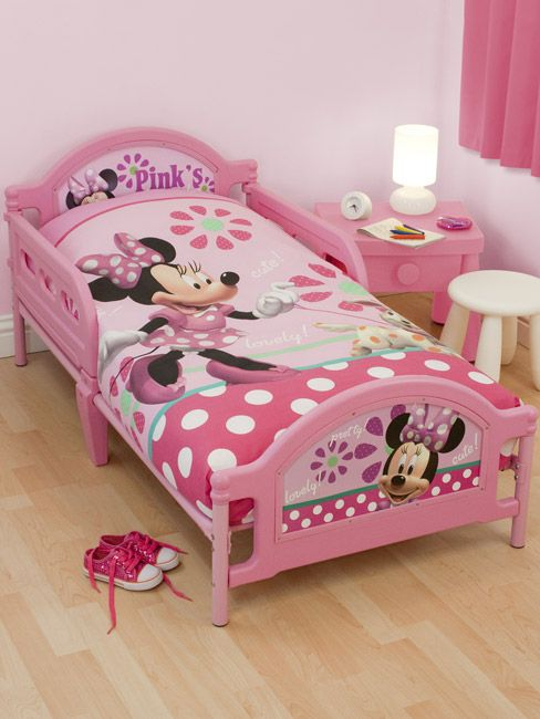 Minnie Mouse Toddler Bedding Set Minnie mouse pretty junior ...