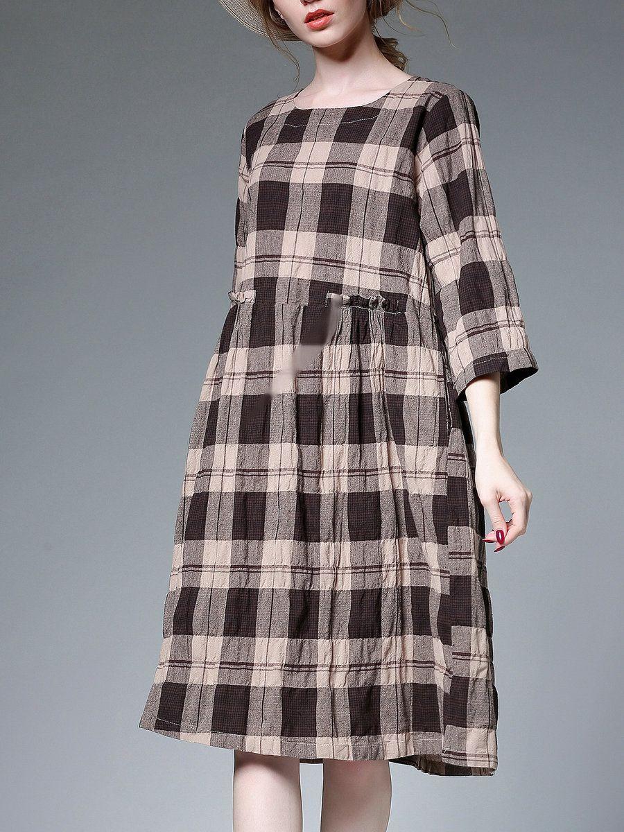 Park Art|My WordPress Blog_Square Neck Midi Dress Long Sleeve