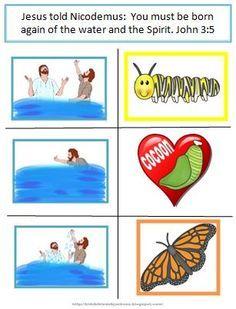 story of nicodemus for preschoolers story of nicodemus activities bible lessons and 899