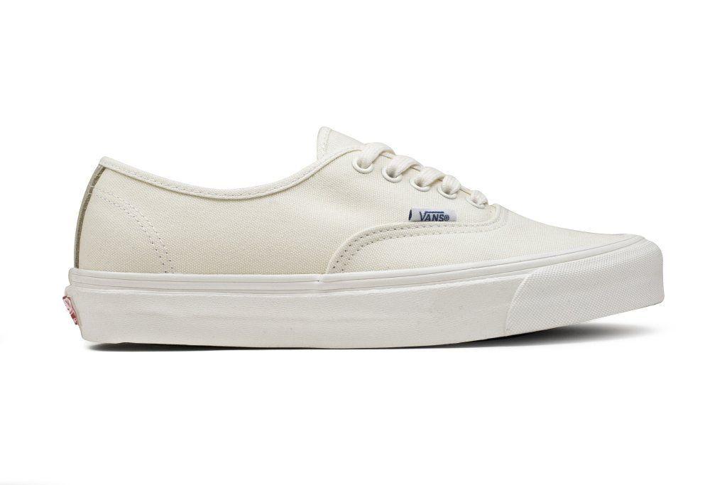 0130caf16f31ef Vans Vault OG Authentic LX Suede Canvas - Classic White Safari ...