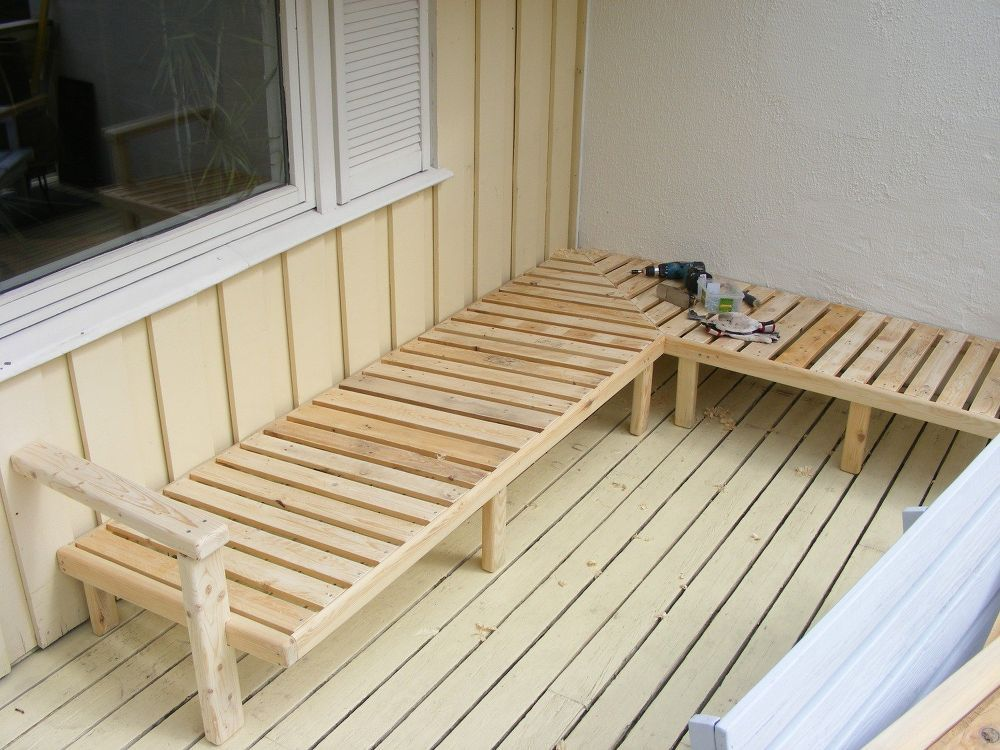Photo of Outdoor Sofa Made From Pallet Wood