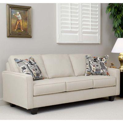 Mercury Row Aries Sofa By Serta Upholstery In 2020 Living Room