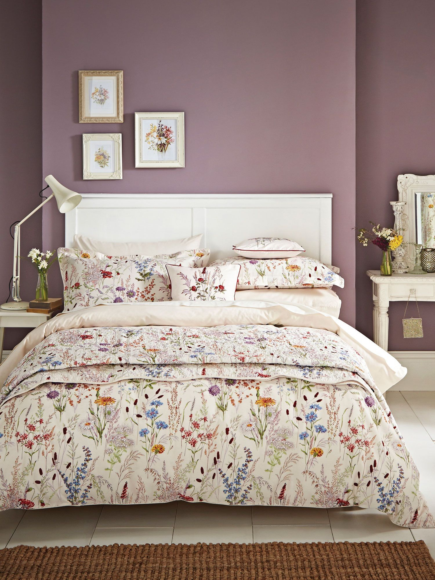 Buy your V&A Blythe Meadow Single Duvet Cover Set In Multi