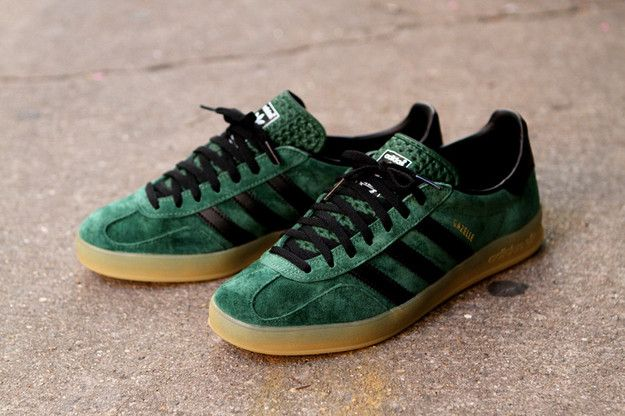 Adidas Gazelle Indoor Green Original, Men's Fashion, Men's
