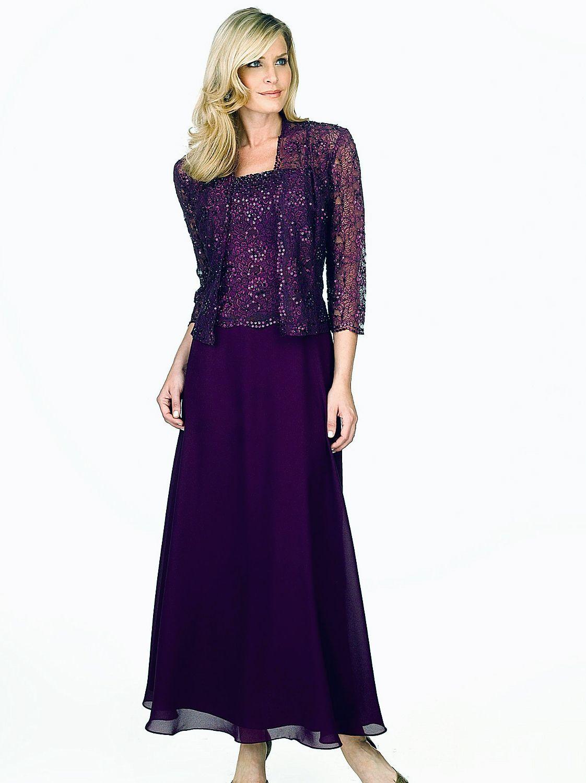 Mother or the Bride Dress - Karen Miller 96540/96678 Chiffon Dress ...