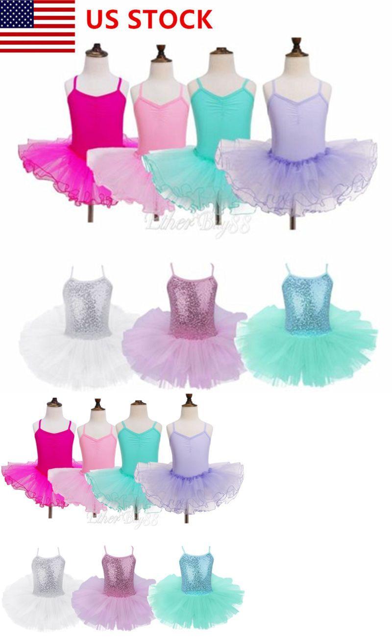 13579a050dcd Dresses and Tutus 152352  Us Girls Ballet Dress Gymnastics Leotard ...