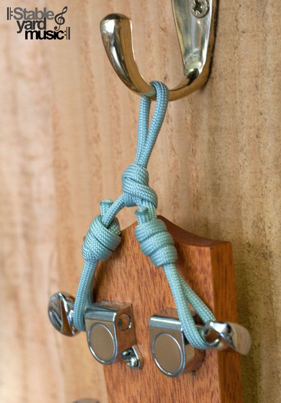 Ukulele Wall Hanger 550 Paracord In Various By