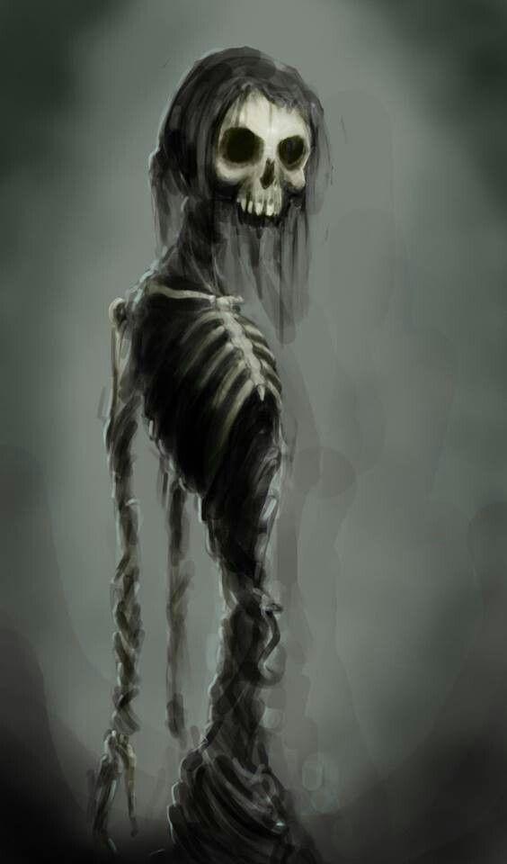 Patience Wearing Thin Skullduggery Grim Reaper Art