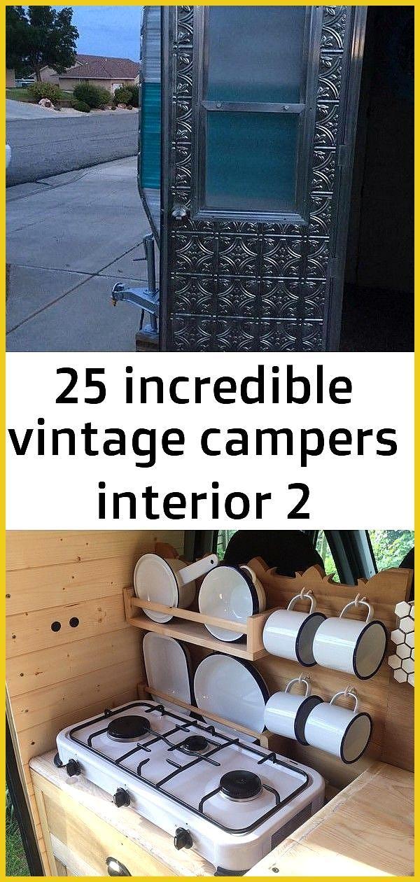 25 incredible vintage campers interior 2 25 Incredible Vintage Campers Interior camper campervan ca