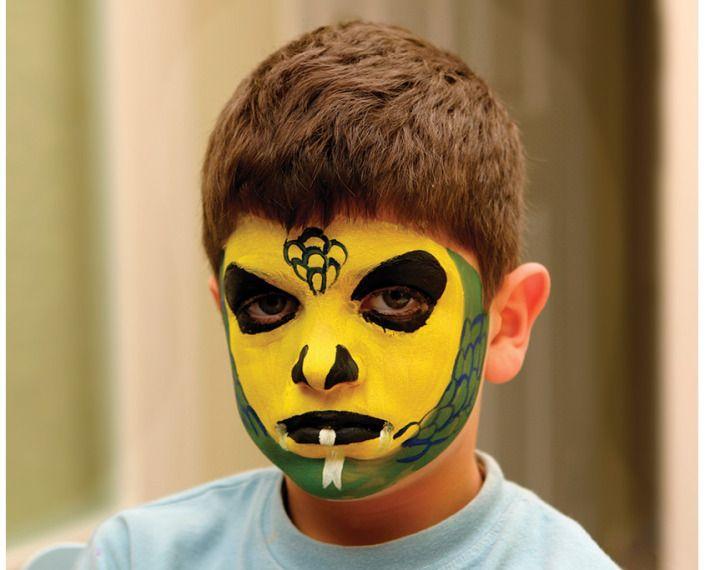 Yüz Boyama Kertenkele Yüz Boyama Face Painting