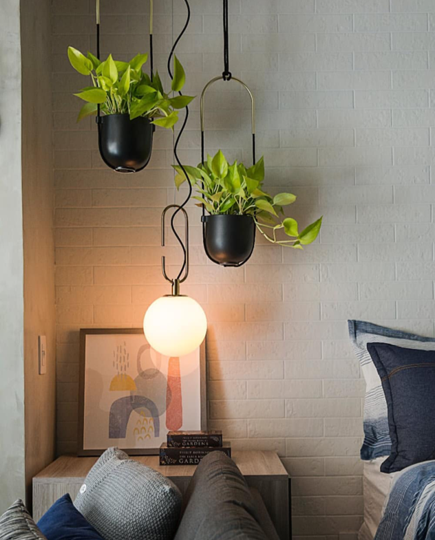 3 Kind Of Elegant Bedroom Design Ideas Includes A: Bolo Hanging Planter (With Images)