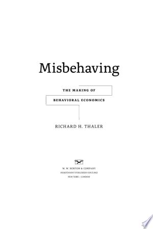Misbehaving pdf free download free