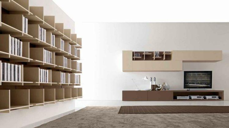 Librerias para salon - diseños modernos y funcionales - | Librerías ...
