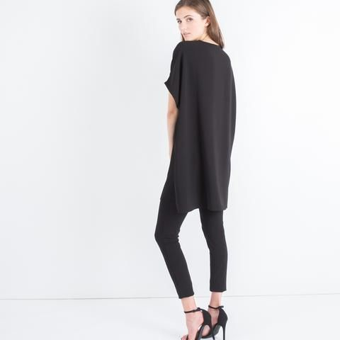 Modern Citizen   Modern Citizen     Dakota Oversized Tunic Dress (Black) - 1 $72