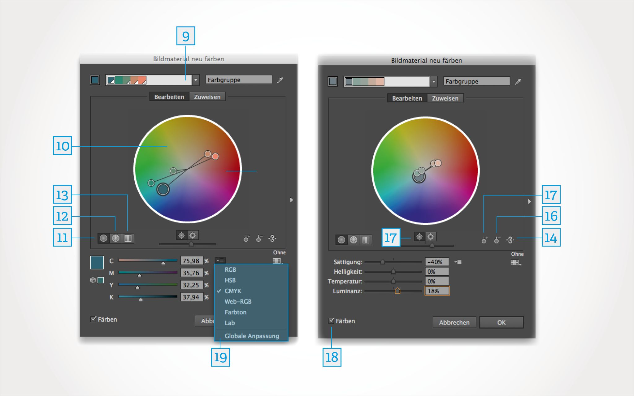 Farbenfroh arbeiten in Adobe Illustrator