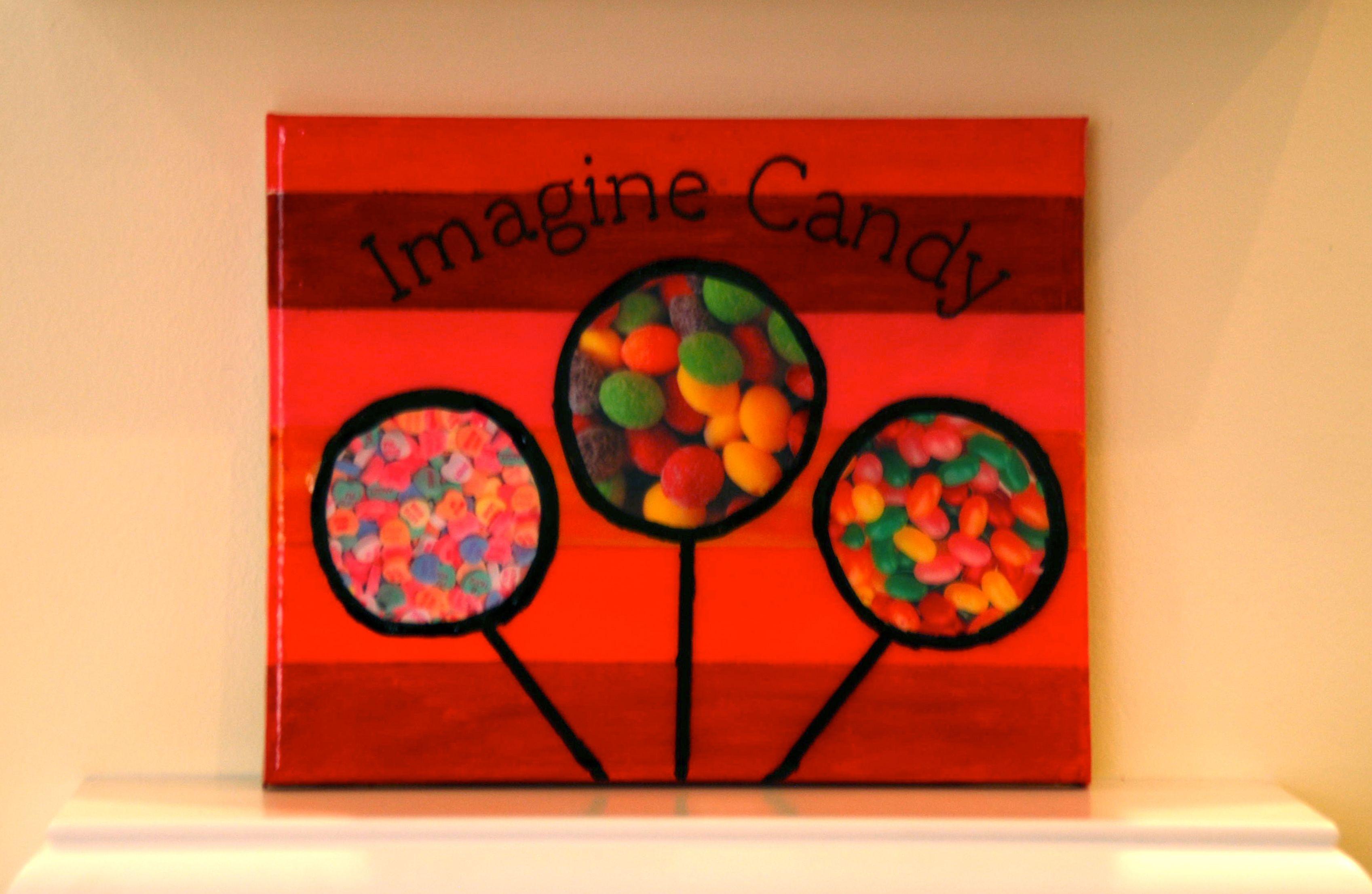 Imagine Candy- Candy Arts Artist: Natalie Gee