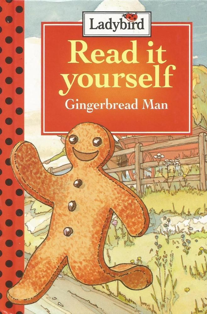 Ladybird - Read It Yourself - Gingerbread Man - Level 2 - Hardcover - S/Hand