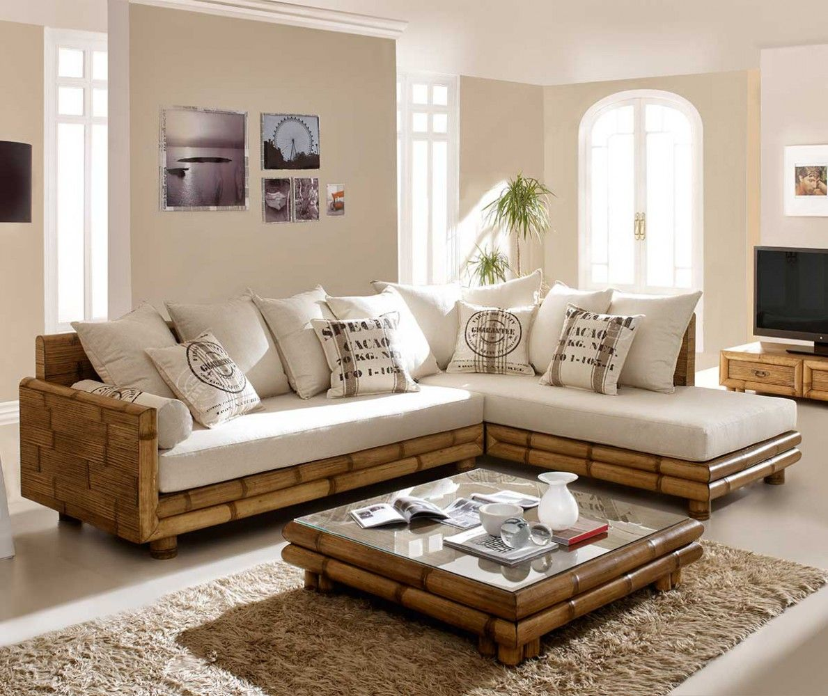Canape Angle Bambou Jpg Image Jpeg 1189 1000 Pixels Redimensionnee 89 Bamboo Sofa L Shaped Sofa Designs Interior Design Bedroom