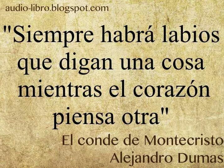 Alejandro Dumas Frases Pinterest