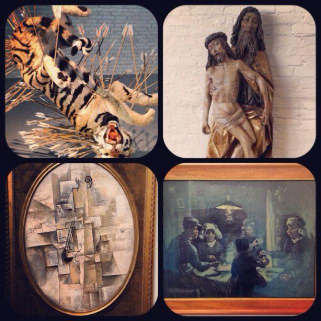 Some artwork we saw at the Kruller Muller Museum