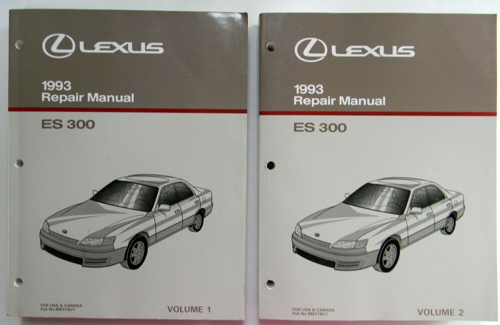 1993 Lexus Es 300 Repair Service Manual Vol 1 Vol 2 New Original Car Automobile In 2020 Lexus Es Lexus Automobile
