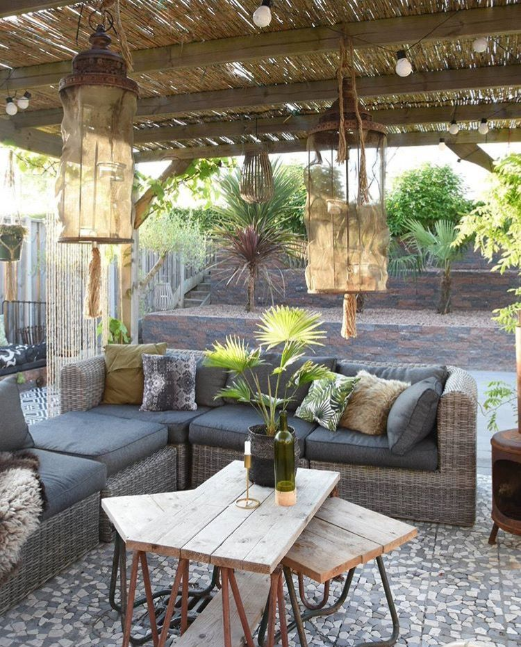 Pin by jak ladpli on Green living space | Pinterest | Terraza jardin ...