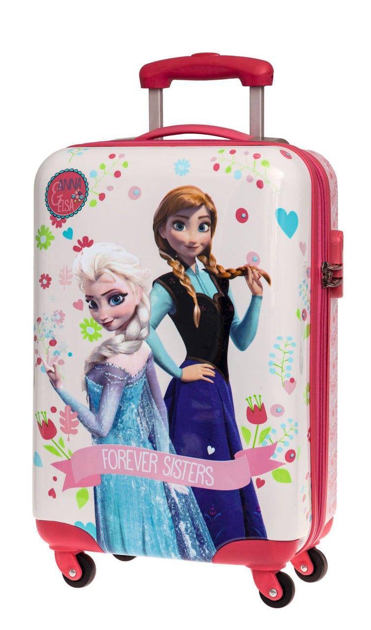 Maleta Frozen Cabina Neceser Baby Shoes Newborn Kids Suitcase Disney Suitcase