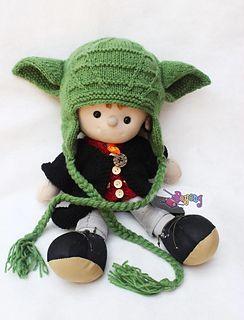 Wrinkle Yoda Baby Hat pattern by Ajeng Sitoresmi   Baby ...