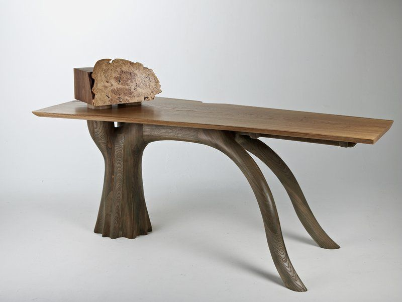 Furniture, Interesting Unique Desk Inspired From Root Oak Trees Design  Ideas: Desk unique design
