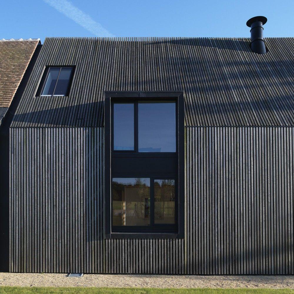 Resultat De Recherche D Images Pour Bardage Vertical Faux Ajoure Bardage Architecture De Facade Architecture Ferme