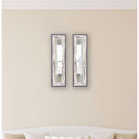 Home Mirror Set Mirror Panels Distressed Mirror
